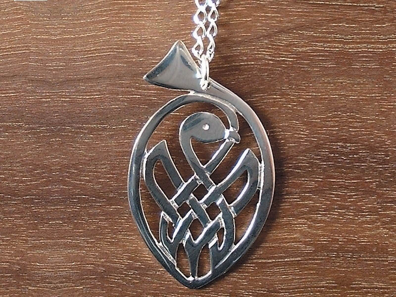 A picture of 'Silver Bird Pendant'