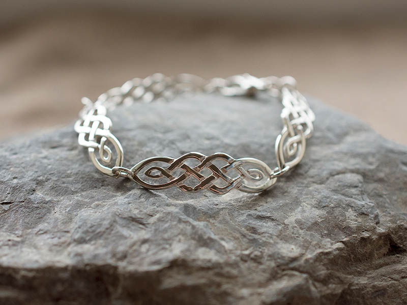 A picture of 'Silver Ribidires Bracelet'
