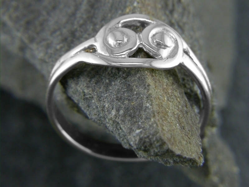 A picture of 'Silver Snowdonia Ring'
