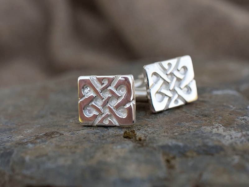 A picture of 'Silver Llywelyn Cufflinks'