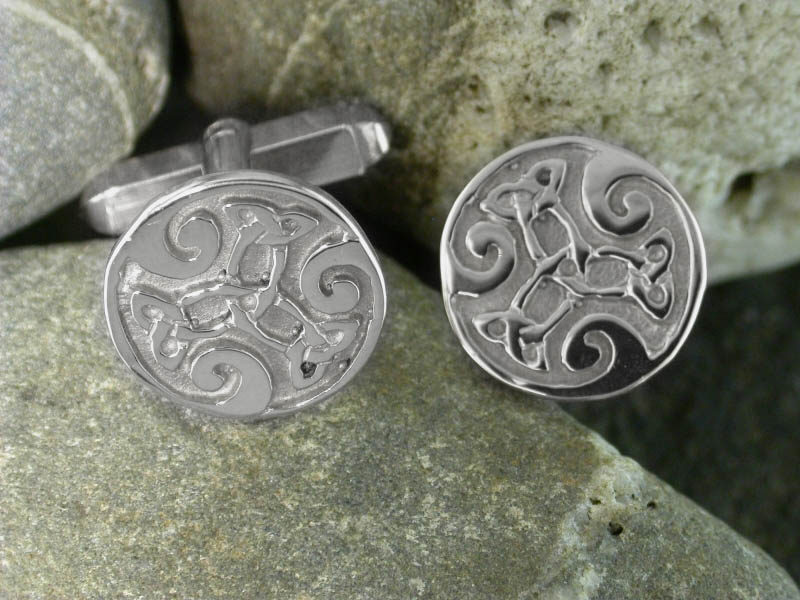 A picture of 'Silver Dylan Cufflinks'