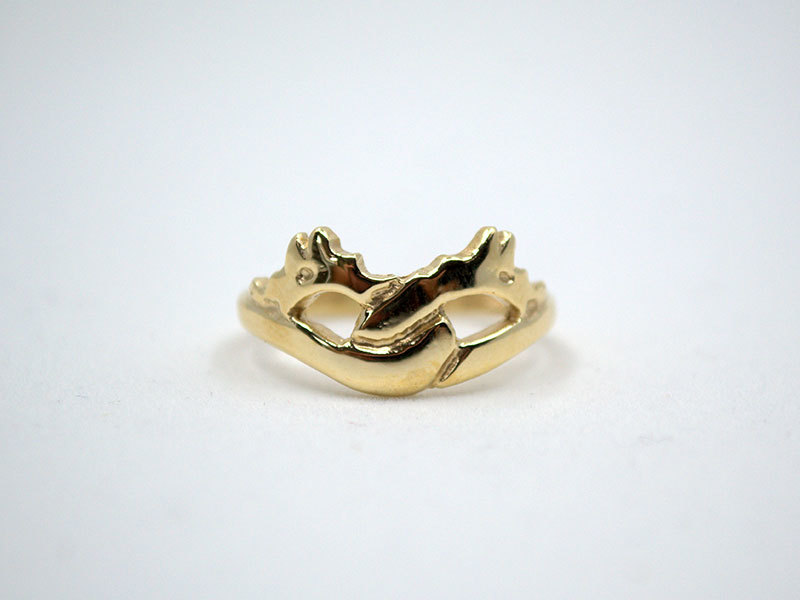 A picture of '18ct Gold Firedrakes Ring'