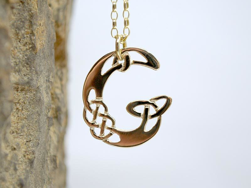 A picture of '9ct Gold Pendant - Initial G'
