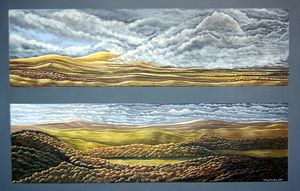 A picture of 'Storms Above Tregaron'