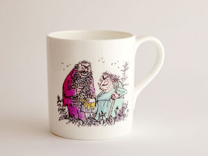 A picture of 'Roald Dahl Mug - Y Twits'