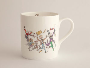 A picture of 'Roald Dahl Mug - Charlie a'r Ffatri Siocled'