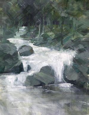 A picture of 'Upper Rheidol Water'