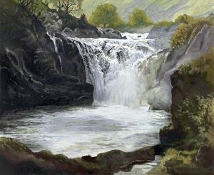 A picture of 'The Rheidol Falls'