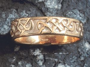 A picture of '18ct Gold Celtic Knotwork Ring'
