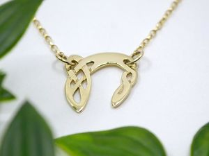 A picture of '18ct Gold Pendant - Initial N'