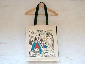 A picture of 'Tregaron Girls Bag Gwyrdd'