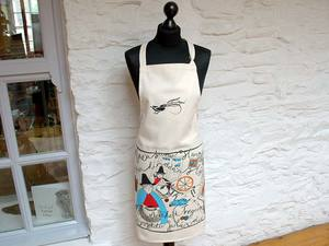 A picture of 'Tregaron Girls Apron'