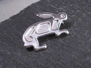 A picture of 'Silver Rabbit Brooch'