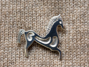 A picture of 'Silver Horse Brooch'