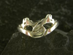 A picture of 'Silver Firedrakes Ring'