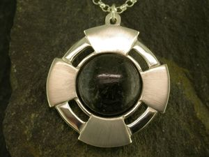 A picture of 'Silver Preseli Cross Pendant'