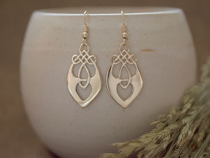 A picture of '9ct Gold Santiana Earrings'