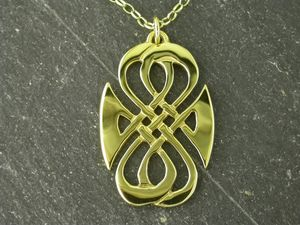 A picture of '9ct Gold Seaside Pendant'