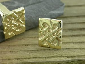 A picture of '9ct Gold Llywelyn Cufflinks'