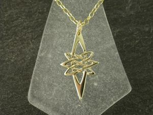 A picture of '9ct Gold Star Pendant'