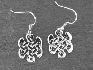 A picture of 'Silver Celtic Knot Earrings'