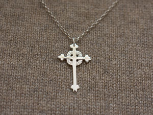 A picture of 'Silver Breton Cross Pendant'