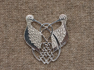 A picture of 'Silver Curlews Brooch'