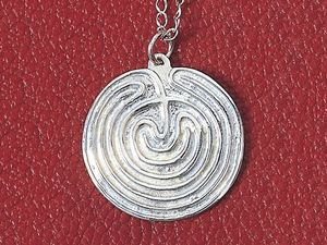 A picture of 'Silver Glastonbury Pendant'