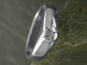 A picture of 'Silver Heavy Medieval Ring'