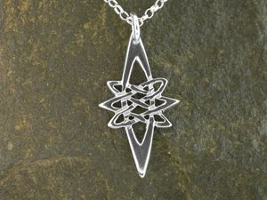 A picture of 'Silver Star Pendant'