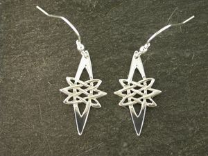 A picture of 'Silver Star Earrings'