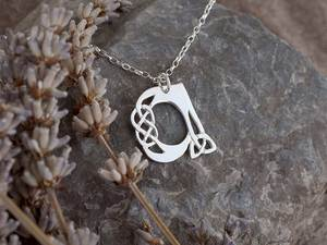 A picture of 'Silver Pendant - Initial A'