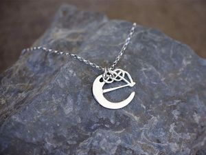 A picture of 'Silver Pendant - Initial E'