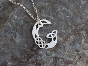 A picture of 'Silver Pendant - Initial G'