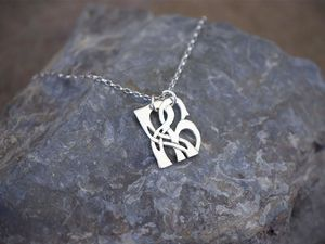 A picture of 'Silver Pendant - Initial RH'