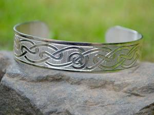 A picture of 'Silver Hafren Bangle'