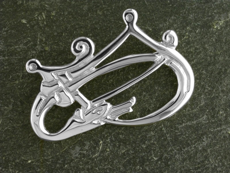A picture of 'Silver Rhigyfarch Brooch'