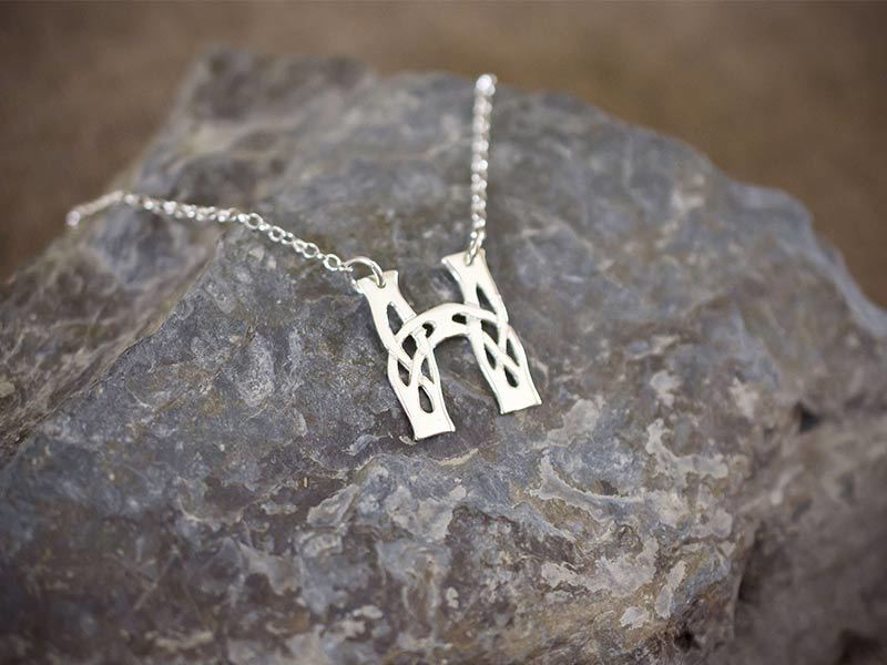 A picture of 'Silver Pendant - Initial H'