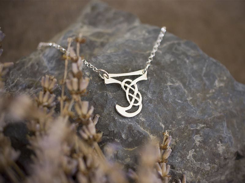 A picture of 'Silver Pendant - Initial J'