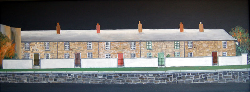 A picture of 'Chapel Row, Merthyr Tudfil''
