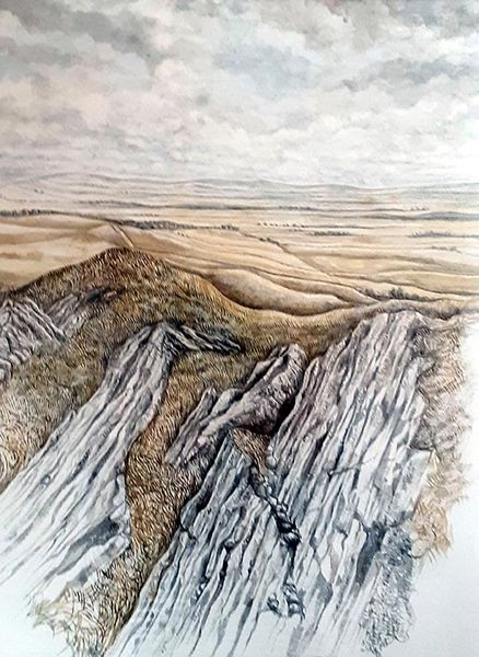 A picture of 'Mynydd Bach - Study''