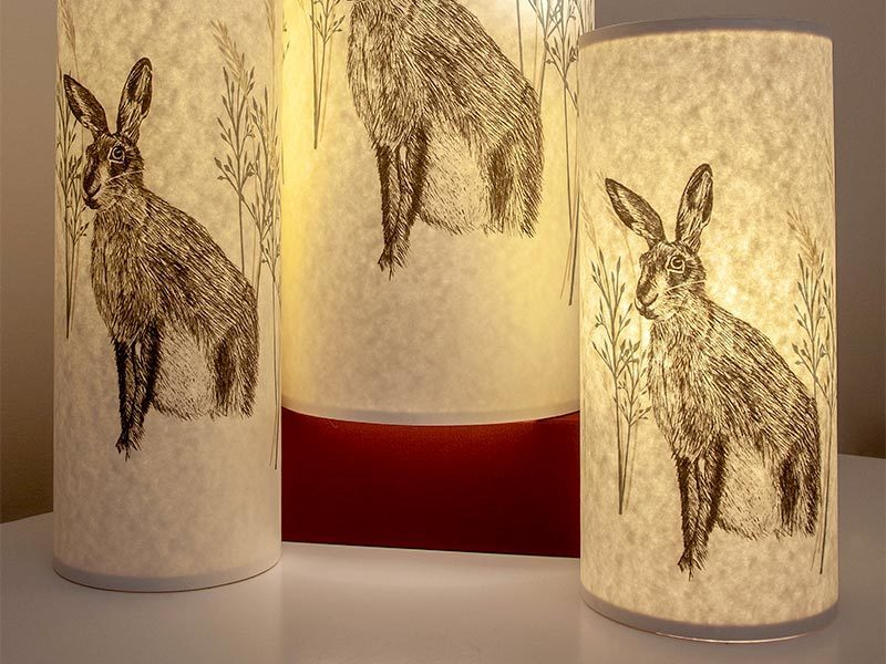 A picture of 'Lamp - Hare''