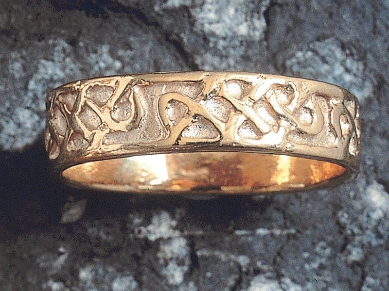 A picture of '18ct Gold Celtic Knotwork Ring''