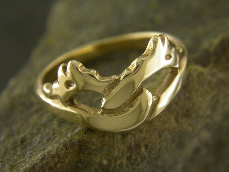 9ct Gold Firedrakes Ring