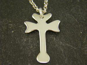 Silver St Cadfan Cross Pendant