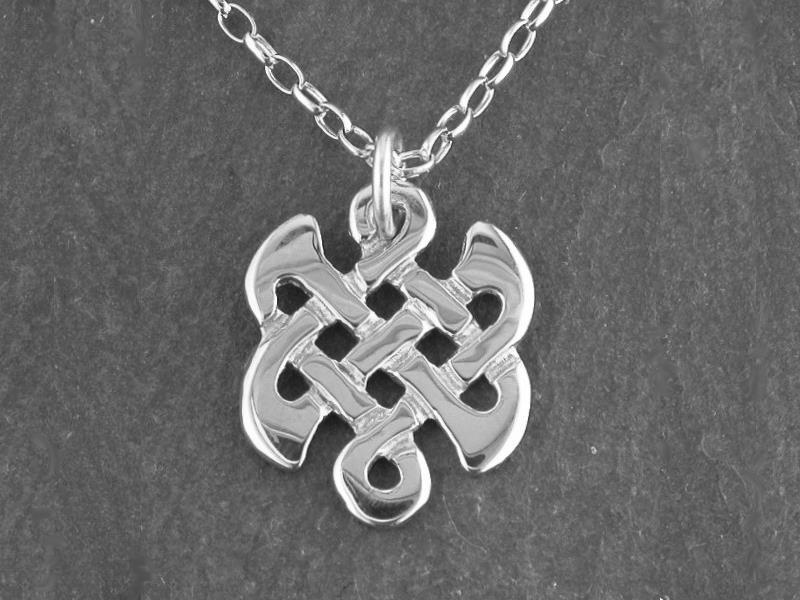 A picture of 'Silver Celtic Knot Pendant''