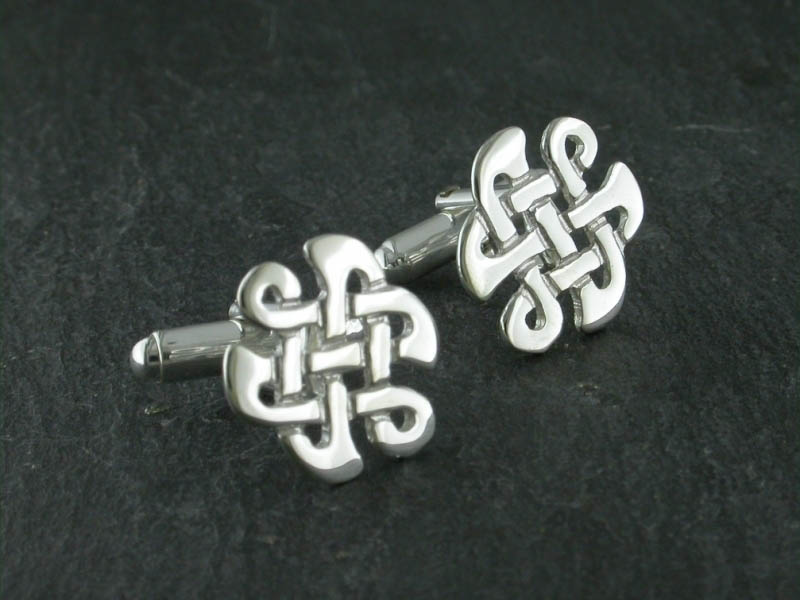 Silver Celtic Knot Cufflinks