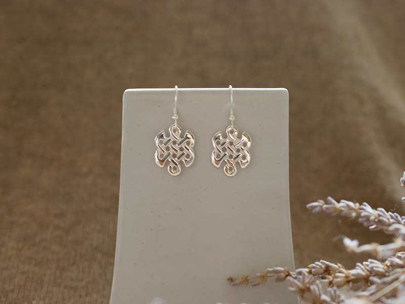 A picture of 'Silver Celtic Knot Earrings''