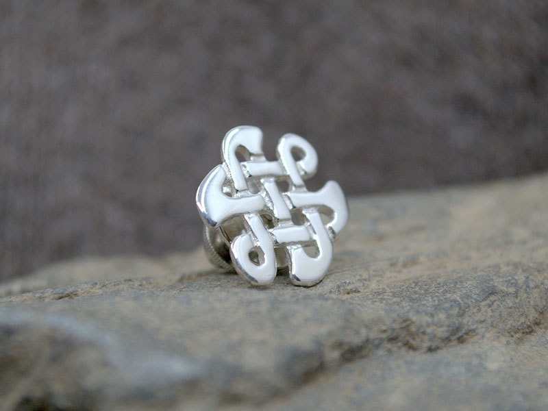 A picture of 'Silver Celtic Knot Pin ''