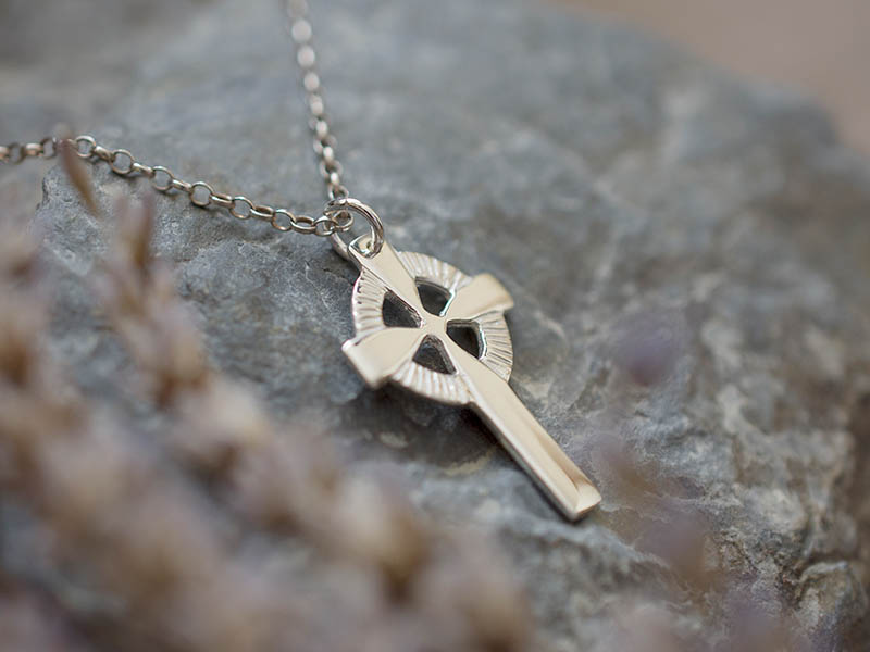 A picture of 'Silver Welsh Cross Pendant''